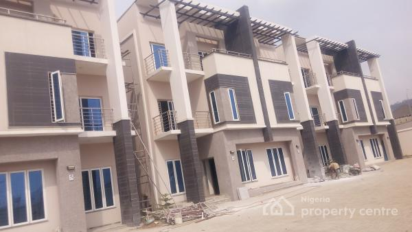 Brand New None Serviced Diplomatic Terrace Duplex with a Bq, En Suite, Pop Finishing, Katampe Extension, Katampe, Abuja, House for Rent