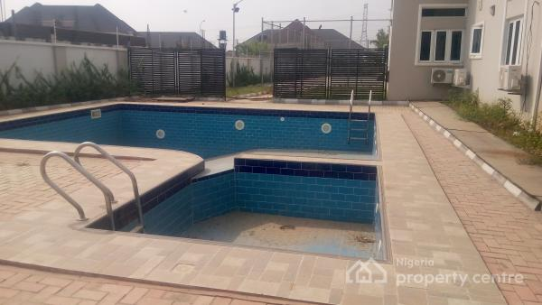 Magnificent Fully Serviced 3 Bedroom Flat, Pool, Elevator, Gym Room,lawn Tennis Court,gardens, Bq, 24hrs Services, Katampe Extension, Katampe, Abuja, Flat for Rent