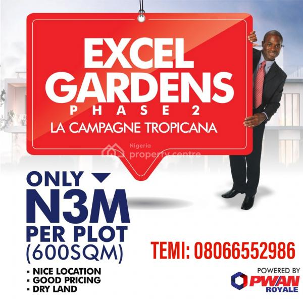 Excel Gardens Phase 2 (directly Opposite La'campagne Tropicana Beach Resort), La Campagne Tropicana, Folu Ise, Ibeju Lekki, Lagos, Mixed-use Land for Sale