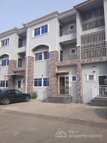 Solidly Built & Well Finished 3 Bedroom  Terrace Duplex with Servant Quarters, Near Turkish Hospital, Jabi, Abuja, Terraced Duplex for Sale