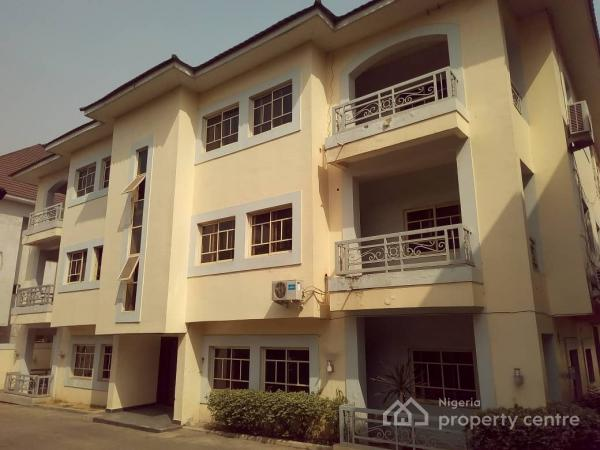 Services and Tastefully Finished 2 Bedroom Flat with a Room Bq, Area 11, Garki, Abuja, Flat for Rent