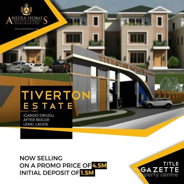Complete Dry Land in a Classy Estate, Igondo, Lekki, Lagos, Land for Sale