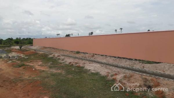Dry Estate  Free Inspection  Dry Land  No Omonile Problem  It Is Fenced And  Secured  No Hidden Fee  Just Whatsapp Or Call Me Now