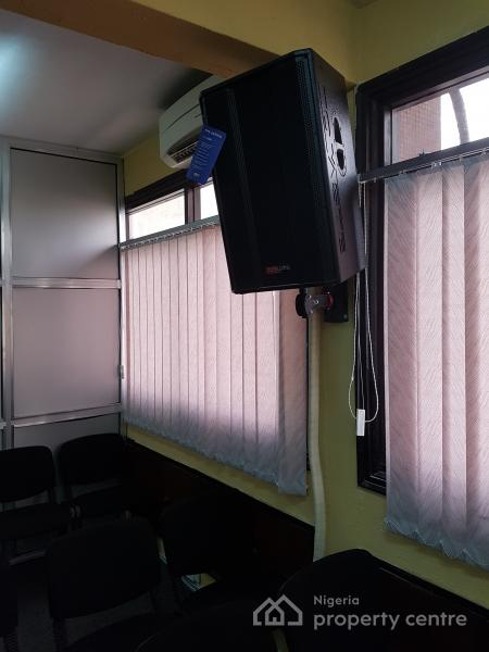 Exquisitely Furnished/fully Equppied Training Center (120 Seater), No. 2, Allen, Ikeja, Lagos, Conference / Meeting / Training Room for Rent