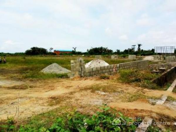 1 Acre of Land, Eleko Junction, Opposite Total Filling Station, Eleko, Ibeju Lekki, Lagos, Mixed-use Land for Sale
