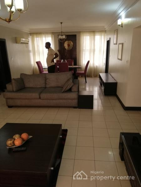 a Fully Furnished and Serviced 3 Bedroom Flat, Falomo, Ikoyi, Lagos, Flat for Rent