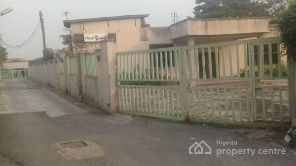a Property Comprising Buildings & Bare Land on Approximately 4000 Square Meters, Adeniyi Jones, Ikeja, Lagos, Commercial Property for Sale