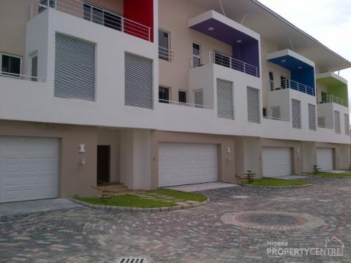 Superbly Finished 4 Bedroom Terrace House Lekki Lagos