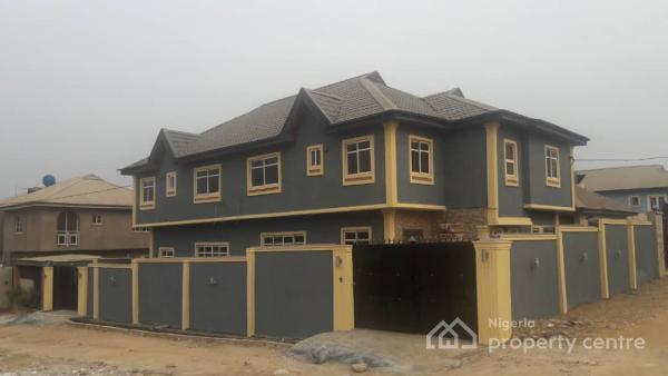 3 Bedroom Duplex, Happy People Estate, Magboro, Ogun, Semi-detached Duplex for Sale