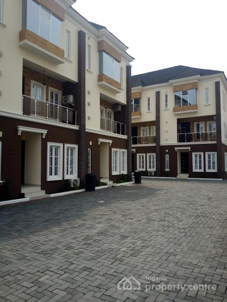 a Brand New 4 Bedroom Terraced Duplex with a Bq, Oniru, Victoria Island (vi), Lagos, Terraced Duplex for Rent