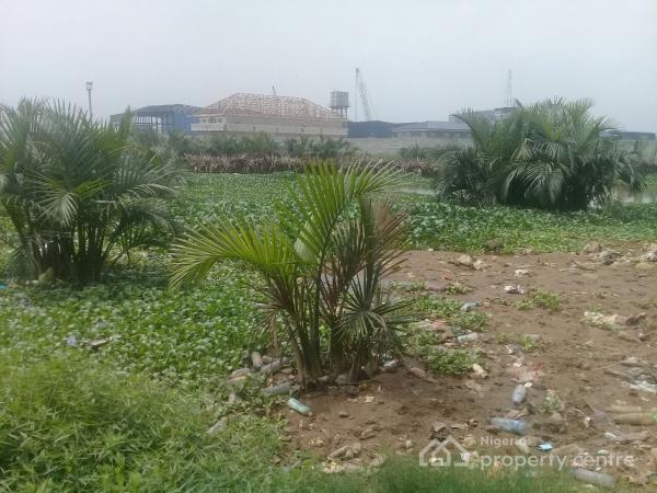 10 Plots of Water Front Land, Trans Woji Road, Woji, Port Harcourt, Rivers, Industrial Land for Sale