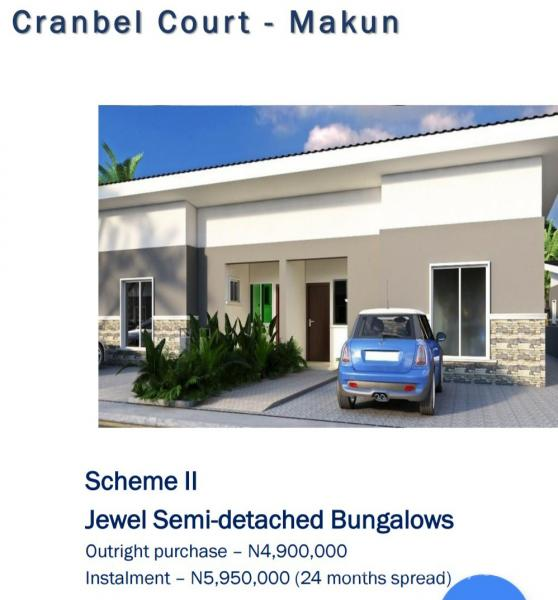 Jewel Bungalow, New Makun City, Opic, Isheri North, Lagos, Detached Bungalow for Sale