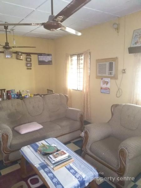 3 Bedroom Bungalow on a Corner Piece Land (c of O) Residential and Commercial Values, Federal Government Service Scheme, Along Pipeland Road By Arogundade Street(corner Piece) Aboru, Ipaja, Lagos, Detached Bungalow for Sale