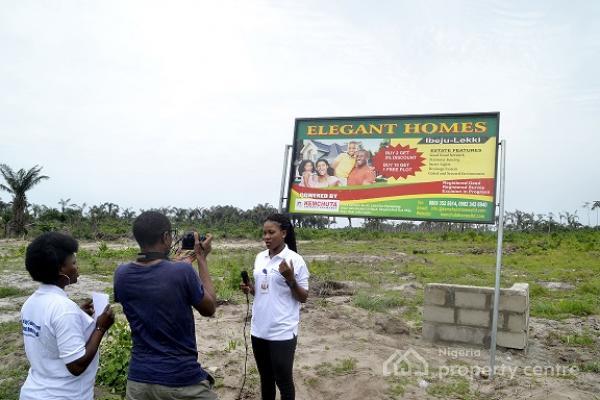 Land, Elegant Homes Estate, Kaiyetoro Town, Eleko, Ibeju Lekki, Lagos, Mixed-use Land for Sale