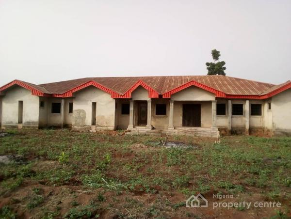 13 Rooms Self Contained Apartment with a Big Sitting Room Suitable for Hostel., After Austin Jay-jay Okocha Stadium, Behind Drug Office, Ogwashi-uku, Aniocha South, Delta, Block of Flats for Sale
