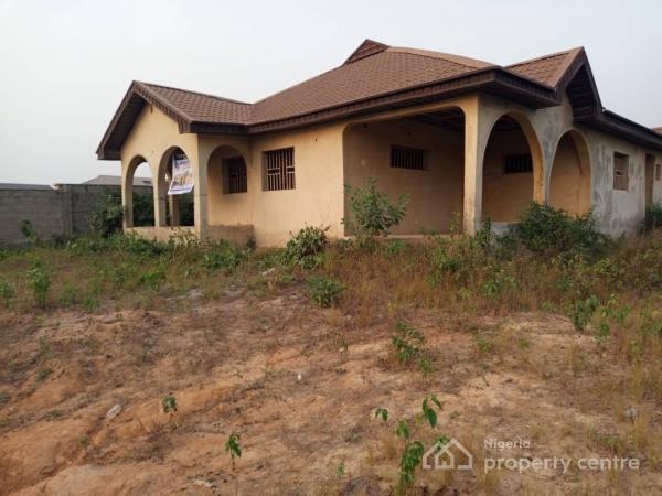 85% Completed 4 Bedroom, All Ensuite Bungalow, Springfield Estate, Ogolonto, Igbogbo, Ikorodu, Lagos, Detached Bungalow for Sale
