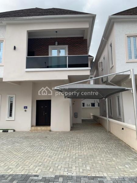Newly Built 5 Bedroom Duplex, Near Chevron Conservation, Chevy View Estate, Lekki, Lagos, Semi-detached Duplex for Rent