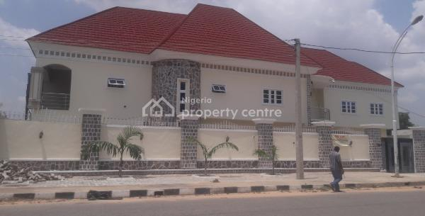 5 Bedroom Duplex with 3 Boys Quarters Code Kn, Mayangu Road, Off Race Course Road, Nassarawa, Kano, Detached Duplex for Rent