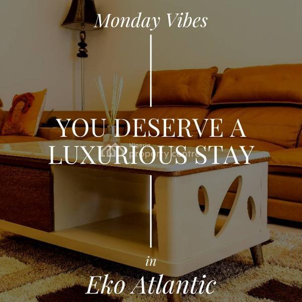 Luxury 2 Bedroom Condo with Ocean Sights, Eko Atlantic City/black Pearl Towers, Victoria Island (vi), Lagos, Flat Short Let