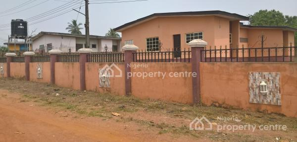 3 Bedroom Bungalow on Large Ground, Road 23, Oke Ata Housing Estate, Ita Oshin, Abeokuta South, Ogun, Detached Bungalow for Sale