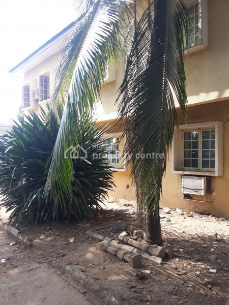 Strategically Located Old 4 Bedroom  Semi Detached Duplex with Servant Quarters, Off Olusegun Obasanjo Way, Zone 2, Wuse, Abuja, Semi-detached Duplex for Sale