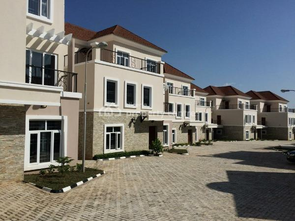 Contemporary 10 Units of 5 Bedroom Duplexes with Servant Quarters Each, Gym Room, Lush Green Areas, Event Center, Ideally for Vips, Katampe Extension, Katampe, Abuja, House for Sale