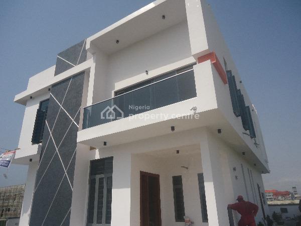 Tastefully Finished 5 Bedroom Detached Duplex with Excellent Facilities, Lafiaji, Lekki, Lagos, Detached Duplex for Sale