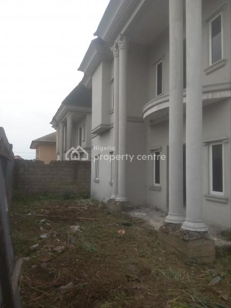 75% Finished 5 Bedroom Duplex with a Paint House But Would Be Completed for a Buyer, House Estate Extension, Rumuibekwe, Port Harcourt, Rivers, Detached Duplex for Sale