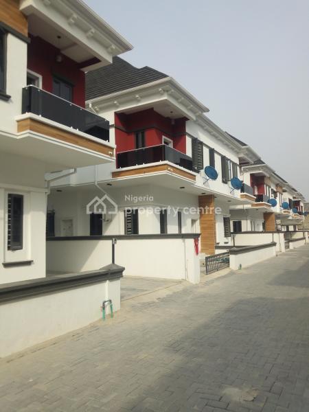 Brand New 4 Bedroom Semi Detached Duplex to Let in a Mini Estate, After Chevron, Lekki Conversation Road, By 2nd Toll Gate, Lekki Expressway, Lekki, Lagos, Semi-detached Duplex for Rent