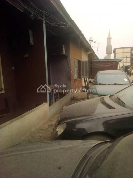 2 Bedroom Flat & 2 Nos Single Room at The Back, Akerele Extension, Surulere, Shitta Roundabout Off, Masha, Surulere, Lagos, Terraced Bungalow for Sale