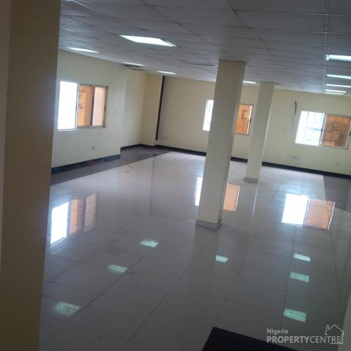 240 Square  Metre Of Open Plan Office Space, Lekki, Lagos, Commercial Property For Rent