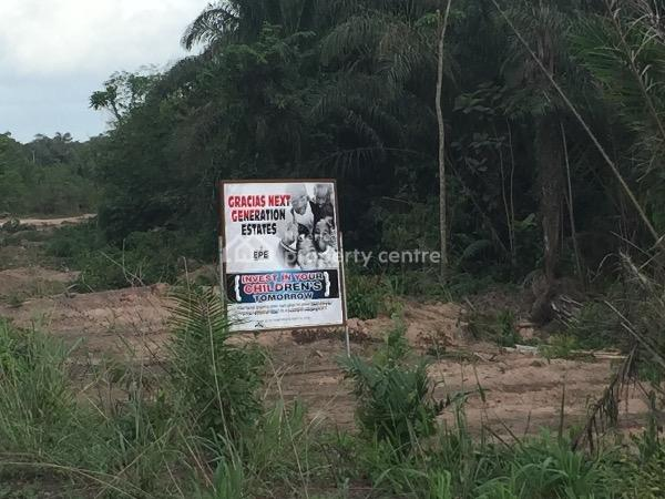 Own a Plot of Land in Epe.... Videos Are Available, 400sqm Is N360k ....next Generation Esta, Igboye, Behind The *nigerian Army Forward Operations Base, Epe*. Just 3 Mins Off The Ijebu-ode - Epe Expressway, Epe, Lagos, Residential Land for Sale