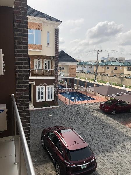 Luxury 4 Bedroom Terrace Duplex with 1 Bq in a Serene Environment, Oniru, Victoria Island (vi), Lagos, Terraced Duplex for Sale