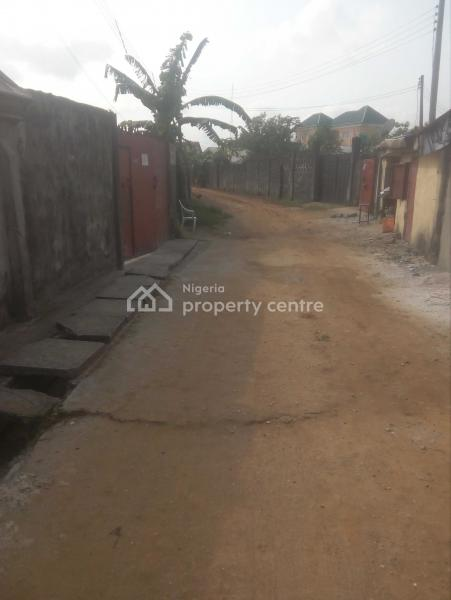 1 and Half Plot of Land, Court Estate, Elimbu, Port Harcourt, Rivers, Residential Land for Rent