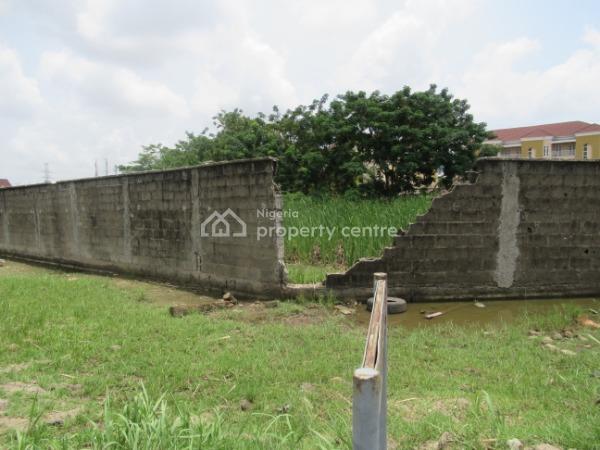 a Fenced 750 Sqm of Land, Osborne Foreshore, Osborne, Ikoyi, Lagos, Land for Sale