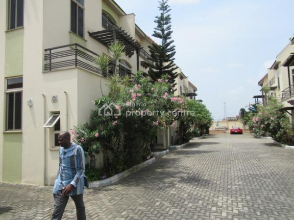 a Tastefully Finished 4 Bedroom Town House with a Room Bq, Banana Island, Ikoyi, Lagos, House for Sale