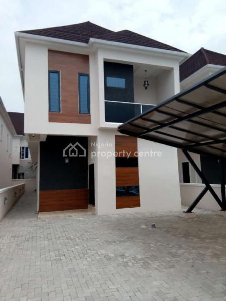 Top Notch 5 Bedroom Detached Duplex with Bq in a Serviced Estate, Lekki, Lagos, Detached Duplex for Sale