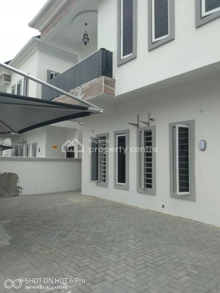 Luxury 4 Bedroom Duplex with Top Notch Facilities, Orchid Road, Chevy View Estate, Lekki, Lagos, Detached Duplex for Sale