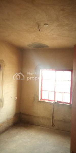 Standard Building of 3 Bedroom Upstairs and 2 Bedroom Downstairs on Half Plot of Land, Alakuko, Abule Egba, Agege, Lagos, Block of Flats for Sale