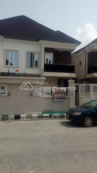 Excellent 4 Bedroom Flat Code Lkk, Bricks Court Estate, By Orchid Road, Ikota Villa Estate, Lekki, Lagos, Detached Duplex for Rent