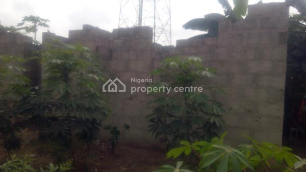 Uncompleted 2 Bedroom Bungalow on 30ft*120ft Land, Along Sango-ijoko Road, Sango Ota, Ogun, Detached Bungalow for Sale