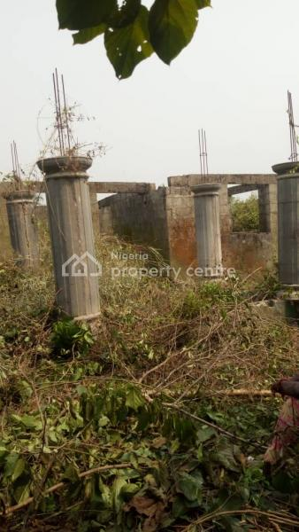 Solid Structure Built on 1 & Half Plot of Land, Totowu, Asese, Ibafo, Ogun, Detached Bungalow for Sale