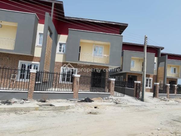 Luxury Finished 4 Bedroom Semi Detached Duplex, Amity Estate,  3 Mins After Shoprite, Sangotedo, Ajah, Lagos, Semi-detached Duplex for Sale