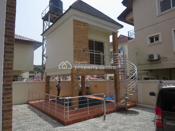 Pay in 12months-luxury Spacious 4 Bedroom Terrace Duplex with Bq, Palace Road, Oniru, Victoria Island (vi), Lagos, Terraced Duplex for Sale