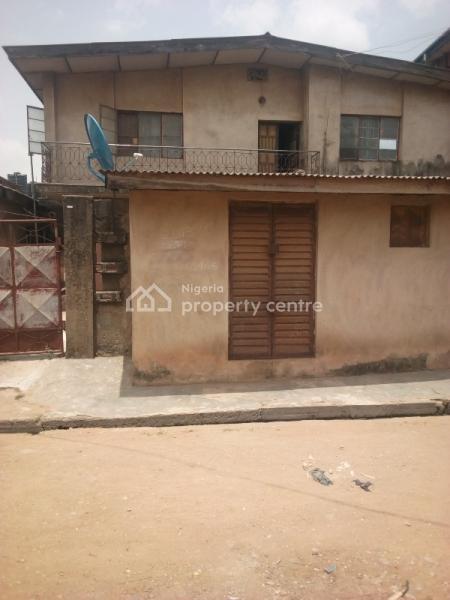 Block of Flats + Shop with Vacant Land, Iju-ishaga, Agege, Lagos, Block of Flats for Sale
