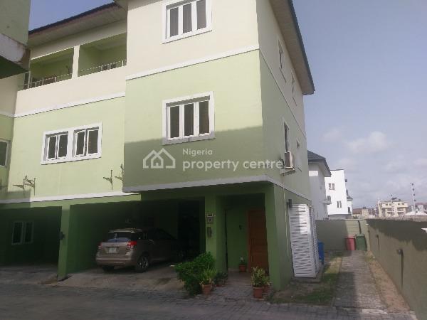 Solid 4 Bedroom Terrace Duplex, Coral Court, Ikate Elegushi, Lekki, Lagos, Terraced Duplex for Sale