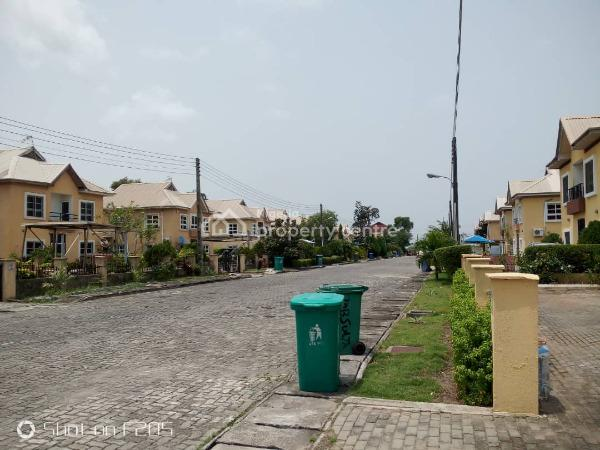 4 Bedroom Fully Detached Duplex with Bq, 24hrs Power, Nothern Foreshore, Chevy View Estate, Lekki, Lagos, Detached Duplex for Rent