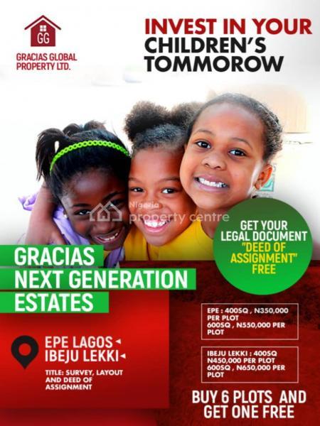 Land, Next Generation Estate, Epe, Lagos, Land for Sale