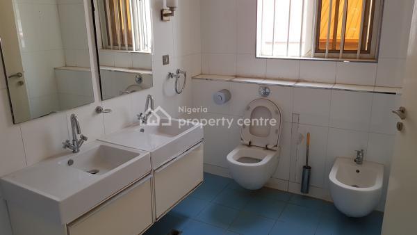 Well Refurbished 4 Bedroom Duplex with Bq, Panama Street, Maitama District, Abuja, Semi-detached Duplex for Sale