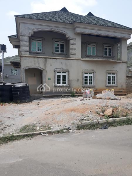 Fully Rendered & Roofed & Plastered 5 Bedroom Fully Detached Duplex with Servant Quarters, an Estate Opposite Games Village Near House on The Rock Church, Area 1, Garki, Abuja, Detached Duplex for Sale